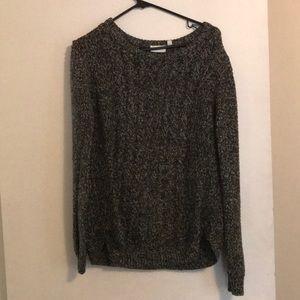 Sweaters - Black/gray sweater